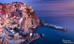 awesome The Divine Sunset @ Manarola