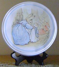 The World of Beatrix Potter Tin Collection by theevintageshop, $7.95