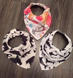 Pleated bandana bibs Bandana Bib, Baby Accessories, Bibs, Fashion, Moda, Burp Cloths, Fashion Styles, Fashion Illustrations, Baby Bibs