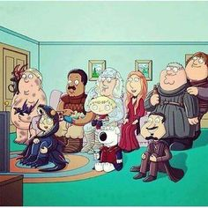 Family Guy x Game of Thrones