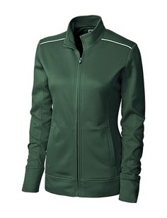 Cutter and Buck Ladies Ridge Full Zip Jacket