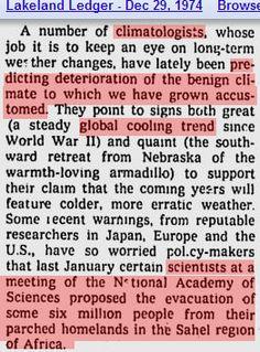 1970's Scientists agree the globe is cooling https://stevengoddard.wordpress.com/1970s-ice-age-scare/ ScreenHunter_1315 Jan. 07 13.06