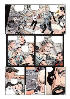 Gadające strony w komiksie to prawdziwe wyzwanie. Z jednej strony zabierają w rysowaniu o wiele więcej czasu niż efektowne ujęcia akcji. Z drugiej mało kto zwraca na nie większą uwagę a oryginalne plansze cieszą się o wiele mniejszym zainteresowaniem od strzelanin walk i szkieletorów. Mimo wszystko te strony to prawdziwy core obrazkowej opowieści i komiks bez ujęć hrabiny która wyszła z domu o piątej po prostu rzadko kiedy się sprawdzi. Chyba że tworzymy modne obecne graficzne powieści… Betta, Comic Art, Challenge, Drawing, Anime, Betta Fish, Sketches, Cartoon Movies, Anime Music