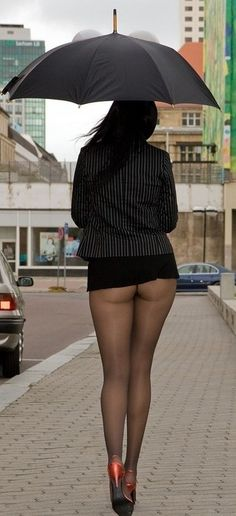 German public pantyhose