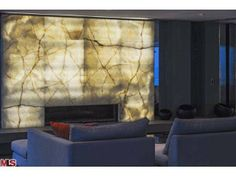 Have you ever seen a sand blasted white onyx fireplace? Malibu, CA Coldwell Banker Residential Brokerage $9,999,999