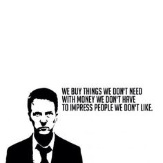 First rule of fight club is you don't talk about fight club.