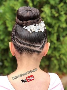 Shoulder Length Twist Braids - 50 Thrilling Twist Braid Styles To Try This Season - The Trending Hairstyle Cute Little Girl Hairstyles, Girls Natural Hairstyles, Kids Braided Hairstyles, Flower Girl Hairstyles, Down Hairstyles, Cute Hairstyles, Natural Hair Styles, Long Hair Styles, Ballet Hairstyles
