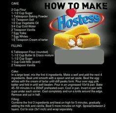How to Make Twinkies. Hostess may be gone, but Twinkies live on