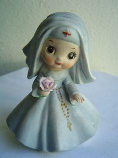 vintage nun figurine