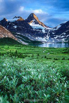 Mt.Assiniboine Provincial Park in British Columbia, Canada