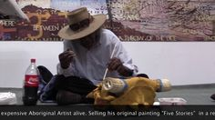 This is the legendary Michael Jagamara, the most expensive aboriginal artist in the World. And he came to The Canvas Art Factory for a visit! Aboriginal Artists, Most Expensive, Contemporary Artists, Original Paintings, Canvas Art, Canvases