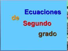 Ecuaciones de segundo grado o cuadráticas completas incompletas sin b sin c teoría y ejercicios - YouTube