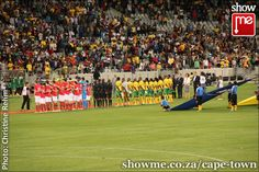 Bafana Bafana against Norway at the Cape Town Stadium Cape Town, Norway, South Africa, Soccer, Public, African, Reading, Business, Travel