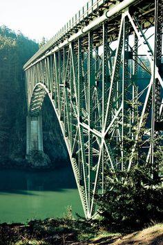 Deception Pass Bridge by elrina753, via Flickr