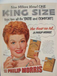 Lucille Ball #Vintage advertisement