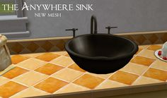 Moar Stuff For & About The Sims: The Anywhere Sink - Small Update