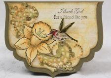 Decorative Yellow Daffodil Card