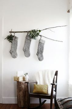 Makeshift Approach - How To DIY Your Holiday Mantel - Photos
