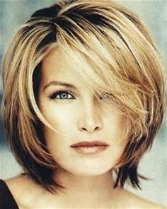 side swept bangs w/ face frame - Yahoo Image Search Results