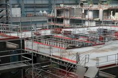 Anthem of the Seas blocks in Hall 6 at Meyer Werft Papenburg. These images are a few weeks old.