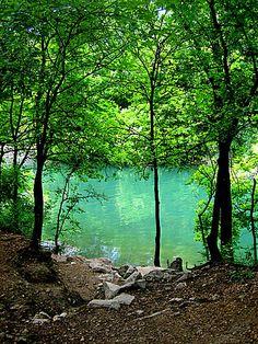 Zilker Park, Austin Texas  It isnt that pretty. Lets not kid ourselves.