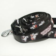 Obojek Blackberry | Collar by Blackberry #collar #dog #black #shepherd #australian #pet #design #handmade #blackberry #obojek #pes