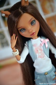 https://flic.kr/p/vcbh5i | -My Mia- |  repaint Clawdeen by Lucy_Gamova Outfit Ashes_lady