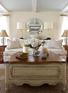 love this living room setting . . .