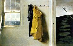 """""""Squall"""" by Andrew Wyeth, 1986. Tempera on hardboard."""