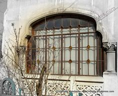 Neo-Romanian style window, Bucharest