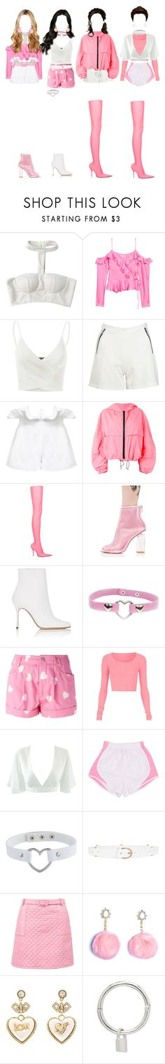 """""""[ live ] G-2 _ MY HEART + LOVE ME + HARSH ( remix vers. ) ( THE SHOW SUMMER SPECIAL )"""" by xxzodiacentertainmentxx ❤ liked on Polyvore featuring Doublju, Boohoo, White Story, MSGM, Balenciaga, Cape Robbin, Manolo Blahnik, Moschino, See by Chloé and Rock 'N Rose"""