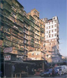Kowloon Walled City - extreme high-density urban environments