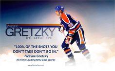 Remembering Wayne Gretzky as an Edmonton Oiler.... and his Words of Wisdom! #WayneGretzky #Quote #EdmontonOilers www.liannelay.com