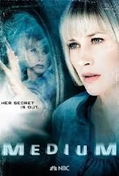 Medium - exactly who Patricia Arquette plays. She gets visions of murders. Works with a special cop & the mayor to solve impossibly horrible crimes. Excellent. She has a brilliant husband & three young girls who may just have the psychic powers within them as they grow older.