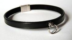 Bdsm Leather Collar Choker Bdsm Collar par CraftCreateCR sur Etsy