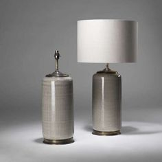 Pair of large ceramic netted lamps on bronze bases Cheap Table Lamps, Touch Table Lamps, Large Table Lamps, Ceramic Table Lamps, Farmhouse Lamps, Lights Fantastic, Lamp Shades, Interior Lighting, Light Decorations