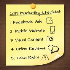 5 ways to improve your school's marketing strategy in 2013 #highered #edu #admissions