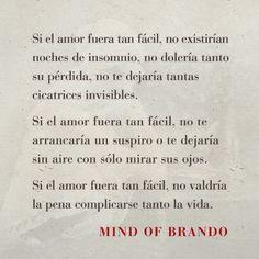 Palabras de Amor y de Aliento ❤ Mind of Brando - Cartas al tiempo