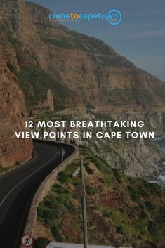 South Africa's Mother City, Cape Town is home to a number of excellent vintage points that offer spectacular views from different angles.