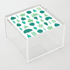 Leaf Shapes and Arrangements Pattern Bright | Different Leaf Shapes and Arrangements were transformed into a pattern. #Graphic-design #Digital #Vector #Decoration #Unique #Design #Leaf #Leaves #Pattern #Shapes #Arrangements #Botanik #Flora #Nature #Green #Greenery #Watercolor #Plant #Plants #Society6 #acrylicbox #kathrinmay