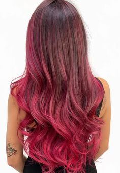 Red Highlights, Hair Inspo, Hair Color, Long Hair Styles, Hairstyles, Beauty, Instagram, Haircuts, Haircolor