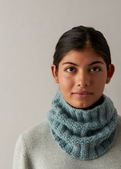 Ravelry: Mistake Rib Cowl in Cashmere Tend pattern by Purl Soho Knitting Patterns Free, Free Knitting, Scarf Patterns, Charity Knitting, Knitting Hats, Loom Knitting, Stitch Patterns, Cashmere Yarn, Purl Soho