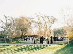A Timeless North Carolina Wedding Full of Family History | @Brides | Planning: @avleventco | Photo: @perryvaile
