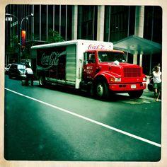 Coca cola car in NY