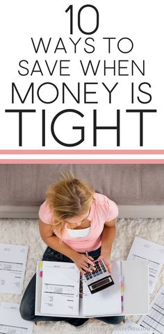 There are loads of things you can do to save when money is tight. These tips for saving money are exactly what I do whenever money is running a bit low, to give myself a bit of breathing room.