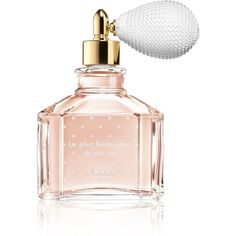 Guerlain Le Plus Beau Jour de Ma Vie Fragrance/2 oz. (323,000 KRW) ❤ liked on Polyvore featuring beauty products, fragrance, perfume, apparel & accessories, guerlain fragrance, guerlain perfume, guerlain, flower perfume and rose fragrance