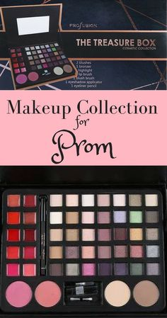 This makeup collection has everything you need to get ready for Prom or any special occasion #ad #prom #cosmetics #weddings