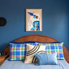 Real Room: Bold Blue for Hugh Boys Room Decor, Boy Room, Blue Bedroom, Kids Bedroom, Nest Design, Long Day, Toddler Rooms, Childrens Beds, Dark Blue Color