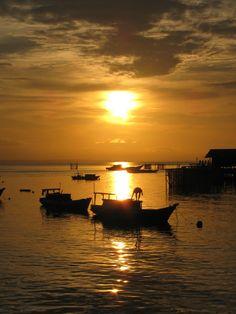 Sunset @ Derawan, Indonesia