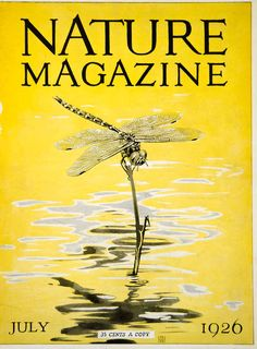 1926 cover of Nature